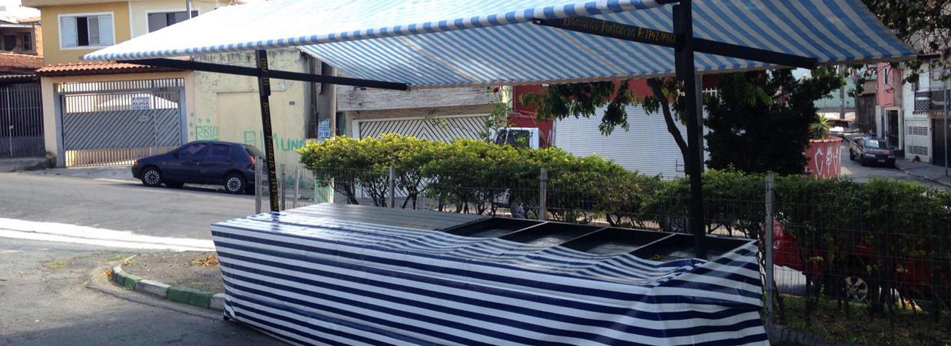barracas para feira livre